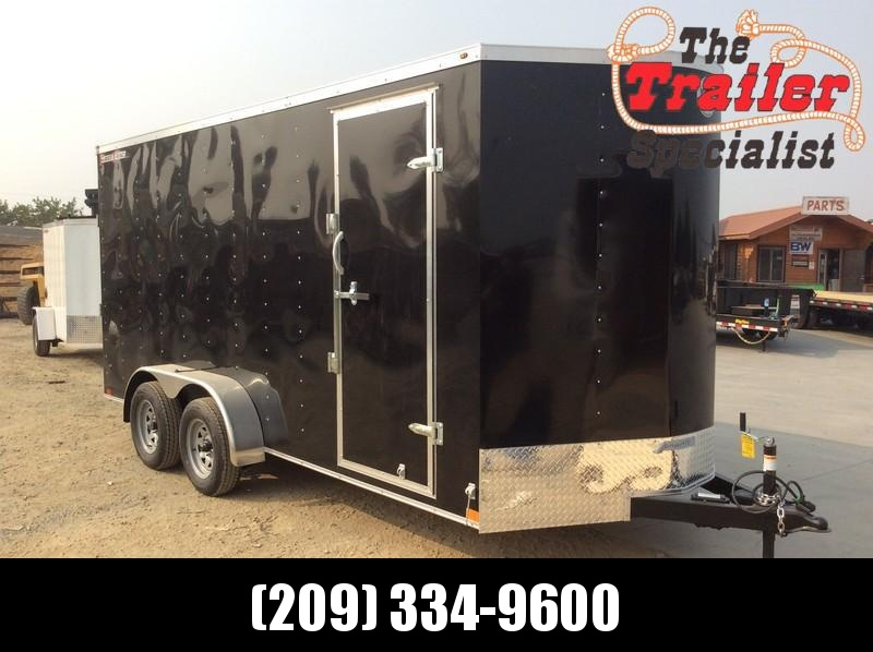 NEW 2021 Wells Cargo FT716T2-D 7X16 Enclosed Cargo Trailer