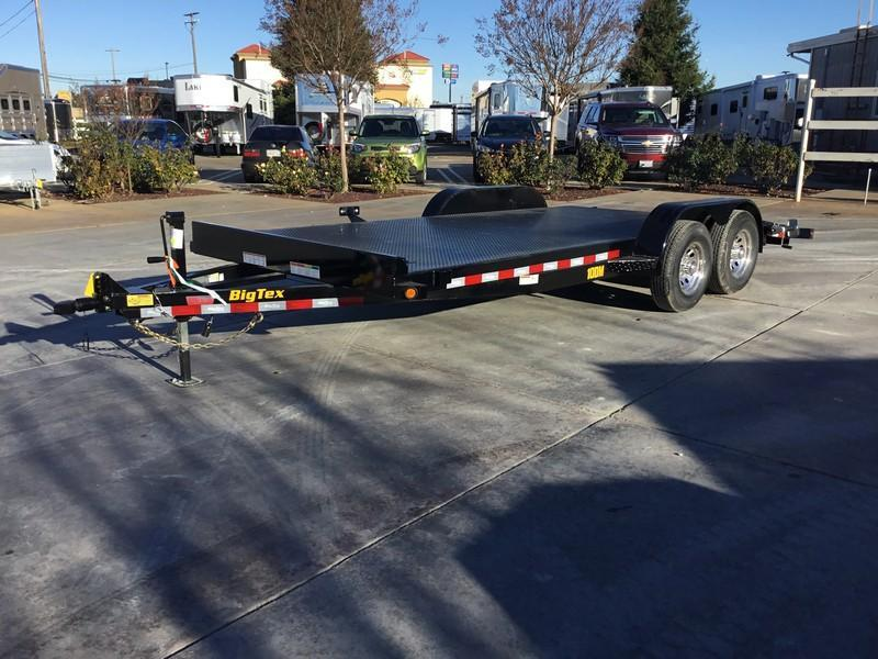 New 2019 Big Tex 10DM-18 7x18 10K Car / Racing Trailer