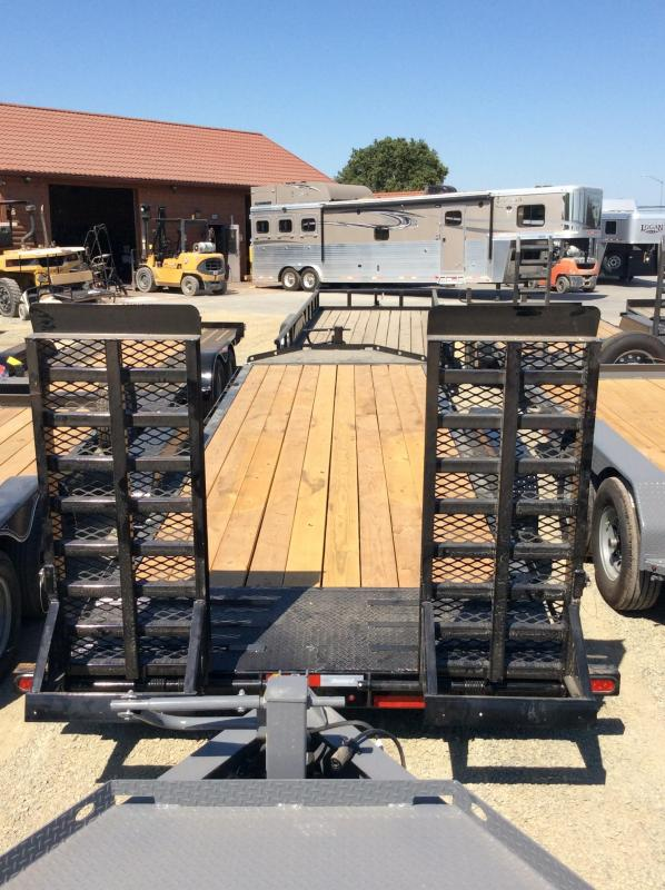 "NEW 2020 Diamond C Trailers LPX207 L22ft x 82"" Low Pro Extreme Duty Equipment Trailer"