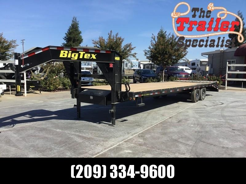 "NEW 2020 Big Tex 14GN-25+5MR 14K GVW 102""x35' Equipment Trailer"