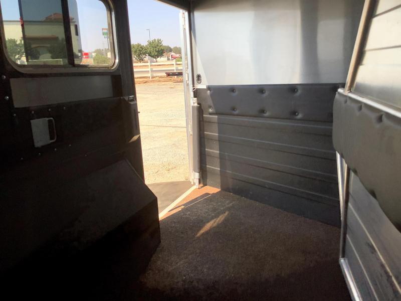 DEMO 2019 Logan Coach 3H LIMITED Side Load 14' Living Quarters w/ Slideout Horse Trailer