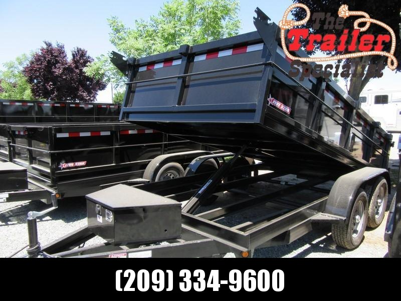 New 2020 Five Star DT212 D7 6x12 Dump Trailer