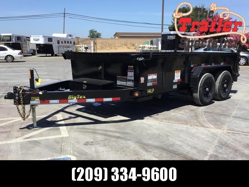 NEW 2021 Big Tex Trailers 14LP-14-6SIR 7' x 14' 14k GVW Dump Trailer