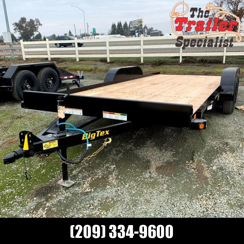 NEW 2021 Big Tex Trailers 70CH-18BRK2  7' x 18' 7000 GVWR Car / Racing Trailer