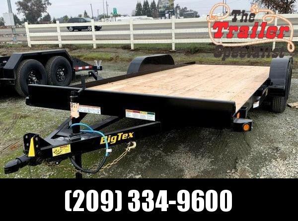 NEW 2022 Big Tex Trailers 70CH-18  7' x 18' 7K GVWR Car / Racing Trailer