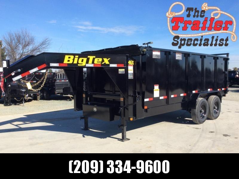 NEW 2021 Big Tex 14GX-16 7 x 16 14K 4' sides Dump Trailer