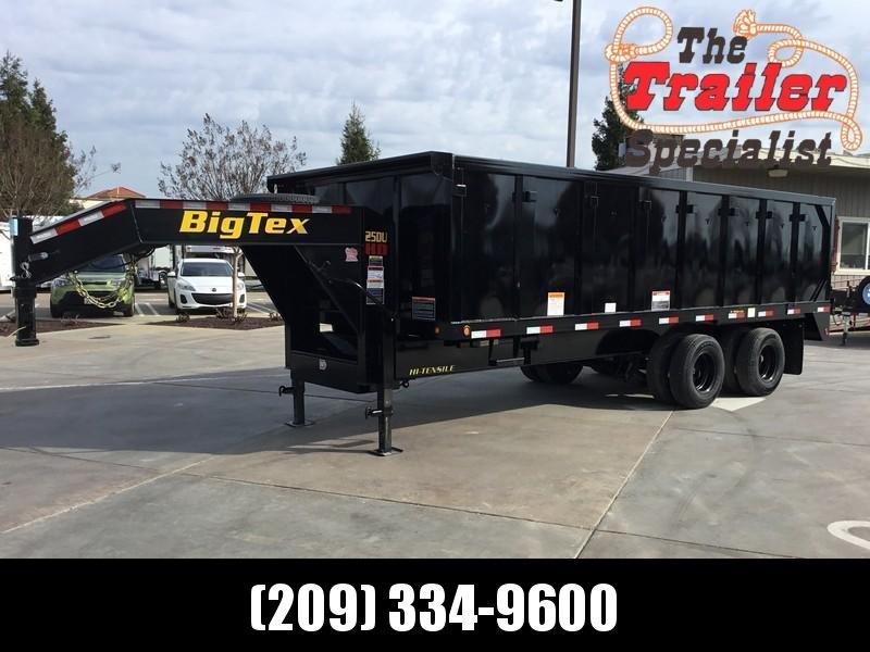 "NEW 2021 Big Tex 25DU-20 92"" x 20' 25900 lbs GVW Dump Trailer"