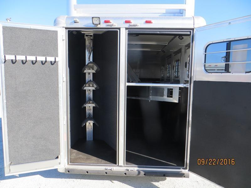 New 2017 Hart Tradition Horse Trailer 4H Smart Storage VIN:51064