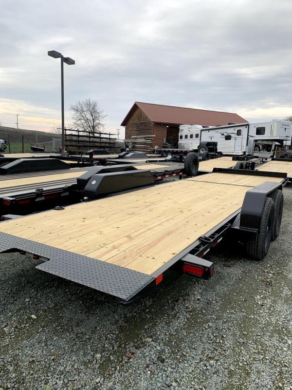 New 2020 Big Tex 14TL-24 80x24 14k GVW Tilt Equipment Trailer