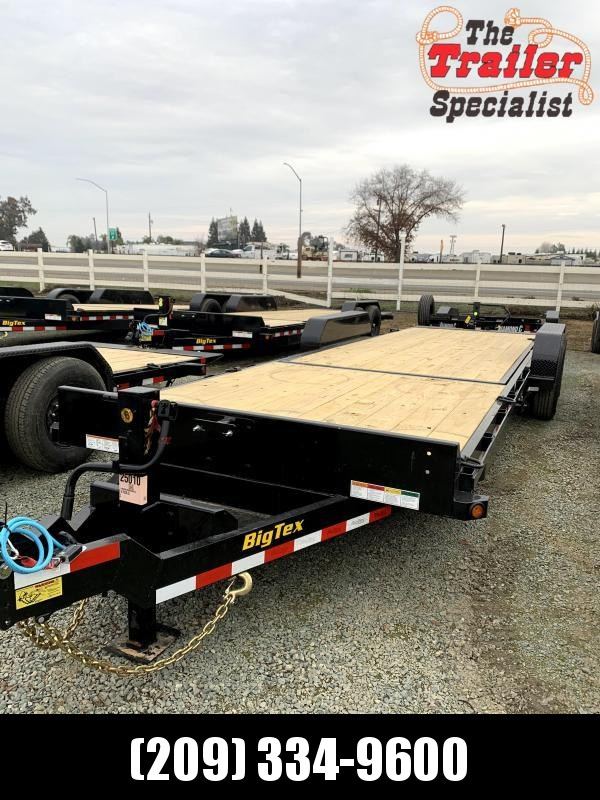 New 2020 Big Tex 14TL-24 80x24 14k GVW Tilt Equipment Trailer