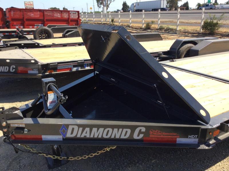 "NEW 2020 Diamond C Trailers HDT207 L20ft x 82"" Low Pro Tilt Equipment Trailer"