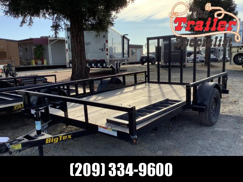 NEW 2021 Big Tex 35SA-12RSX (Side Load) 7 x 12' 2995 GVW Utility Trailer