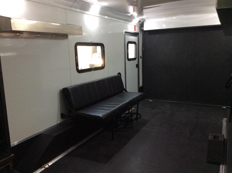 NEW 2020 Logan Coach Sports Hauler 12ft LQ 16ft garage Toy Hauler RV