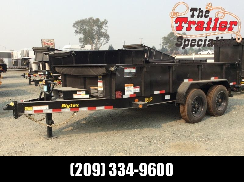 NEW 2020 Big Tex Trailers 16LP-14-6SIR Dump Trailer