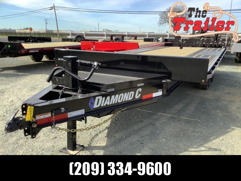 "NEW 2021 Diamond C Trailers DEC207-L 20' x 102"" 14900 GVW Equipment Trailer"