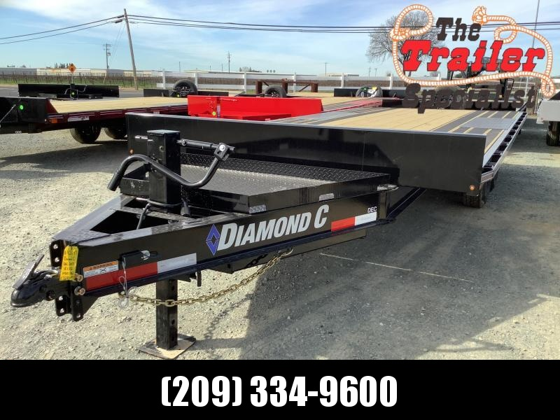 "NEW 2021 Diamond C Trailers DEC207-L 18' x 102"" 14900 GVW Equipment Trailer"