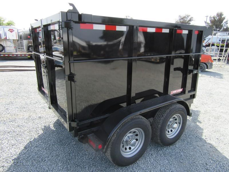 New  Five Star DT292 D105x8 10K Dump Trailer 4'sides