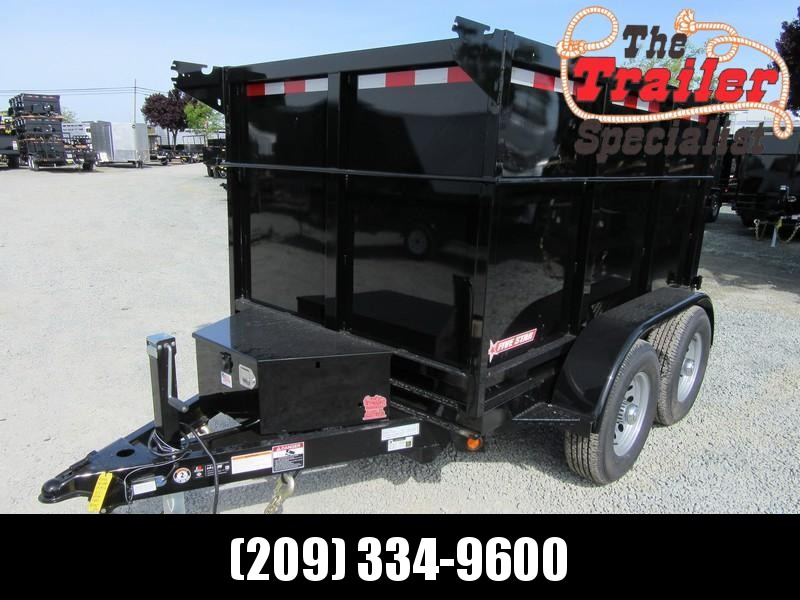New 2021 Five Star DT292 4'sides 5' x 8' 10000 Dump Trailer
