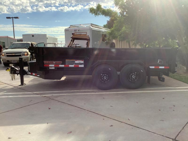 NEW 2021 Midsota HV-14 7 x 14 15400 GVW Dump Trailer