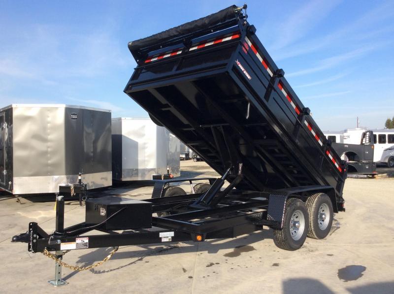 NEW 2022 Five Star DT277 7' x 12' 10k GVW Dump Trailer