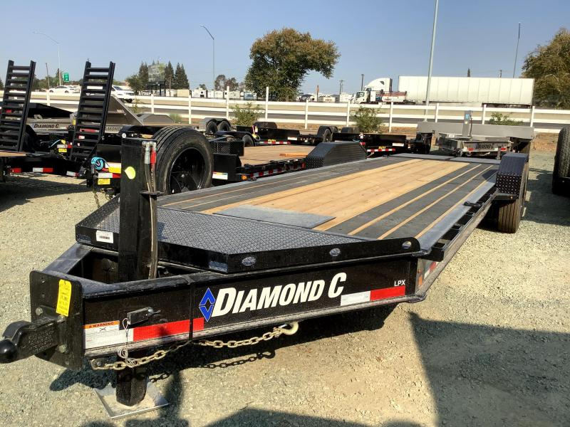 NEW 2021 Diamond C Trailers LPX208L 7' x 24' 18k GVW Equipment Trailer