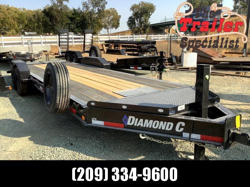 NEW 2021 Diamond C Trailers LPX208L 7' x 24' Equipment Trailer