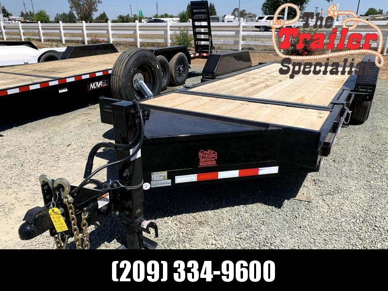 NEW 2021 Midsota tilt TB-20 7' x 20' 17600 GVW Equipment Trailer