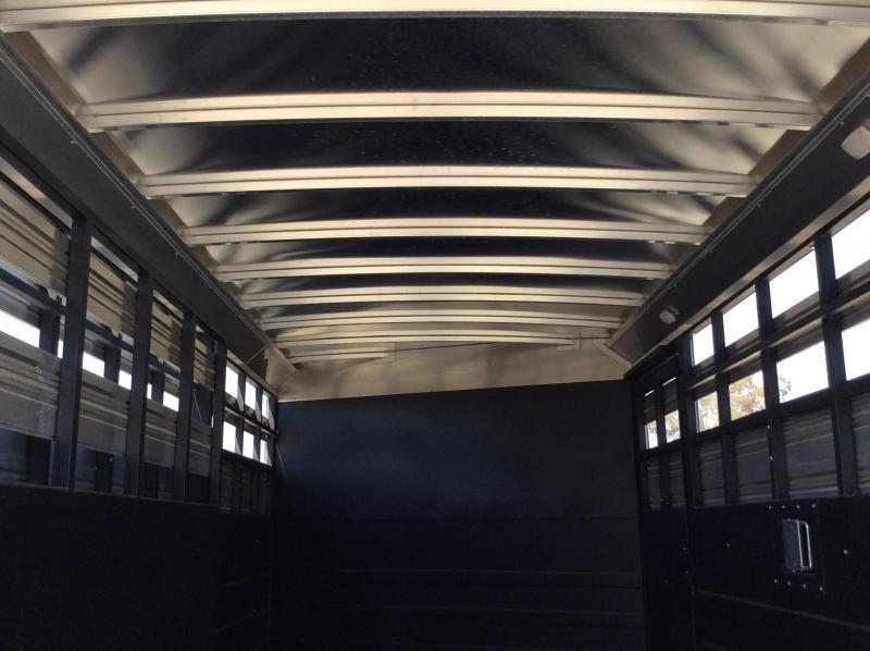 NEW 2020 Logan Coach 18' Stock combo Livestock Trailer