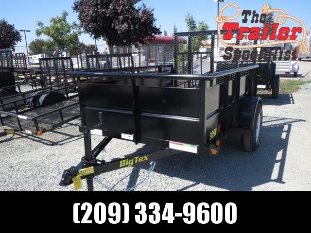 New 2020 Big Tex 30SV-08 5x8 Utility Trailer