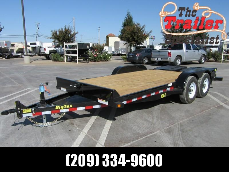New 2020 Big Tex 10ET-20MR Equipment Trailer 7X186 10K GVW