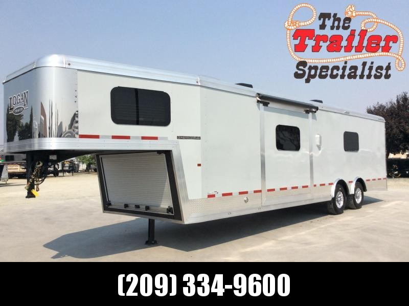 NEW 2020 Logan Coach Sport Hauler 16' GN 12x12 Open Car / Racing Trailer