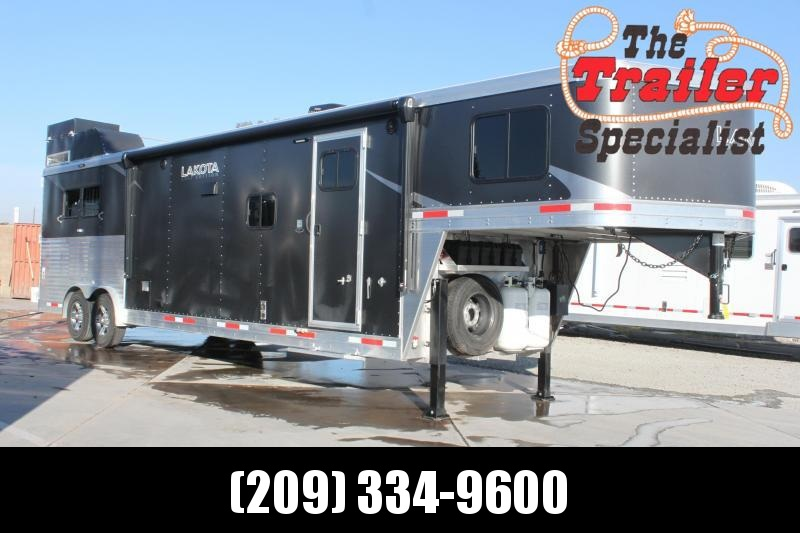 NEW 2021 Lakota AC8 3H 8' Wide Colt 13' LQ Horse Trailer