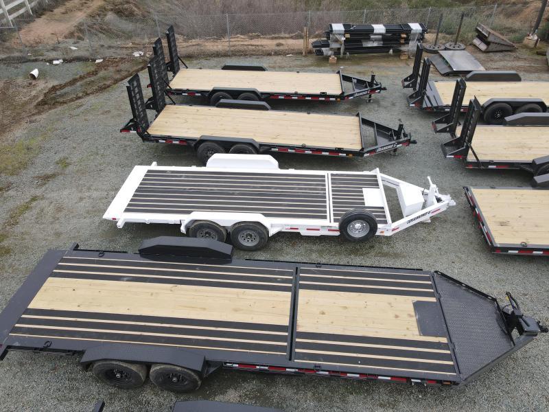 "2021 Diamond C Trailers HDT207-L 24' x 82"" 14900 GVWR Equipment Trailer"