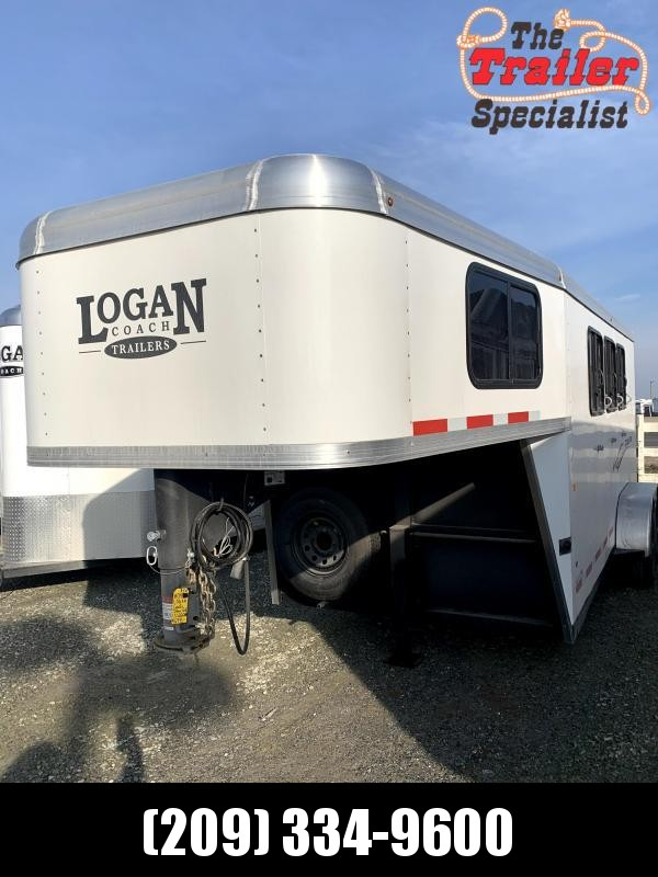 NEW 2021 Logan Coach Crossfire 3H GN Horse Trailer *MORE PICTURES SOON*