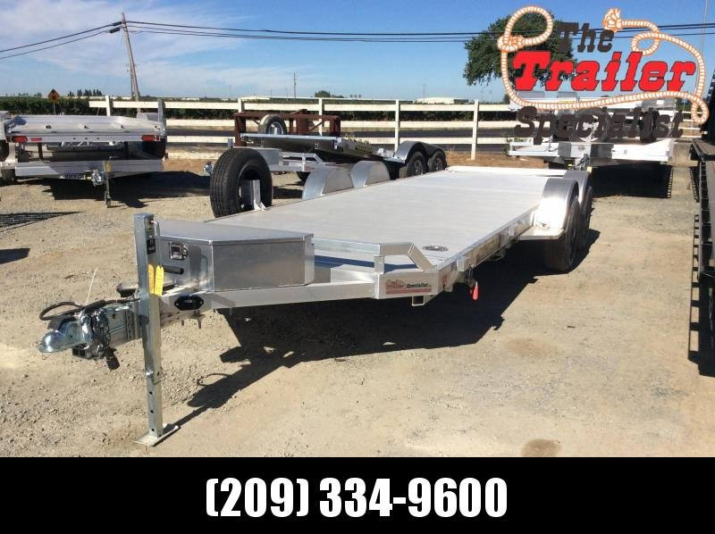 2021 Aluma 8220H-LP-TILT-TA Equipment Trailer