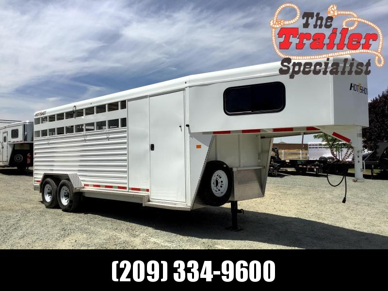 2017 Trails West Hotshot 20' Stock Combo Livestock Trailer