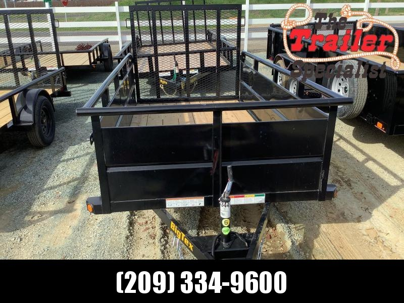 NEW 2021 Big Tex 30SV-10 5' x 10' 2995 lbs GVWR Utility Trailer
