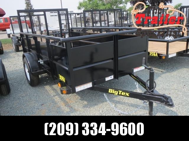 NEW 2021 Big Tex 30SV-10 5x10 2995 lbs GVWR Utility Trailer