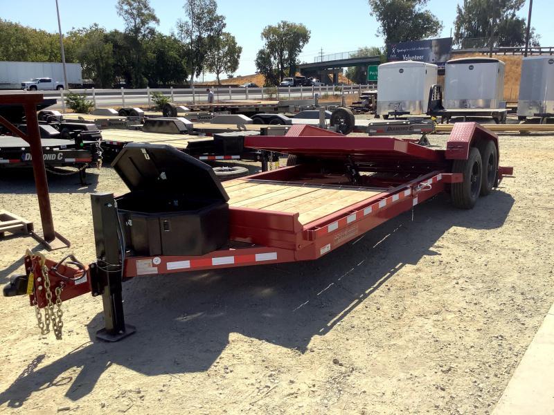 NEW 2021 Midsota TB-22 7 x 22 17600 GVW Equipment Trailer
