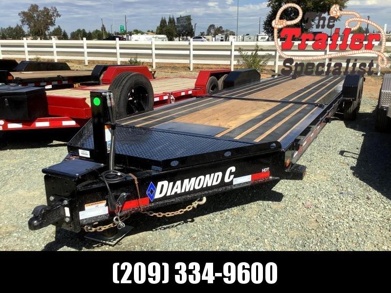 "NEW 2021 Diamond C Trailers HDT208L 80"" x 26' 18k Equipment Trailer"
