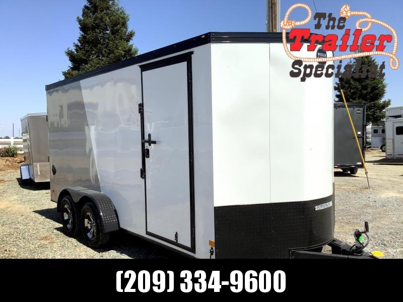 NEW 2021 Wells Cargo Road Force V-Front 7' x 16' T2 7k GVW Enclosed Cargo Trailer