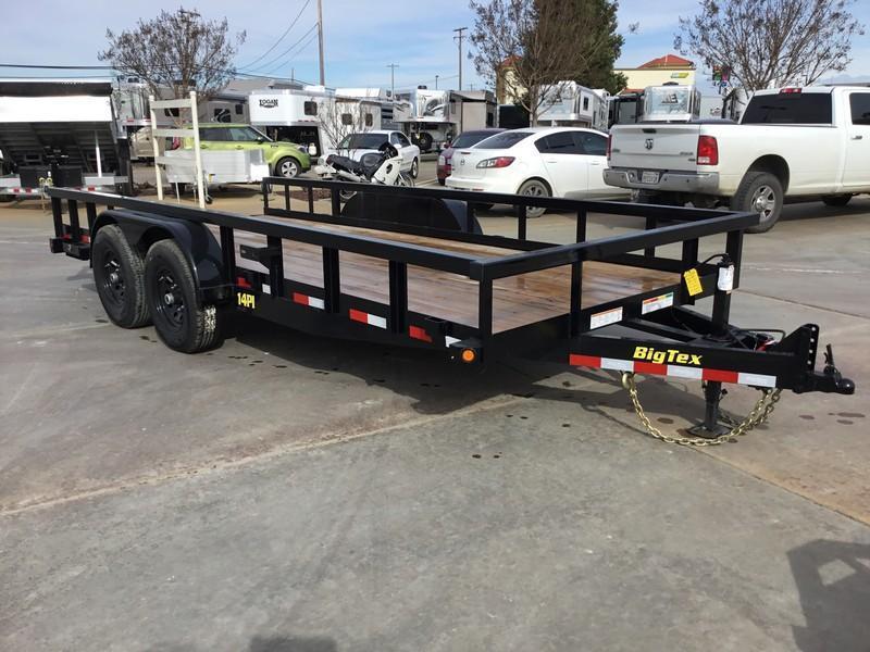 New 2021 Big Tex Trailers 14PI-20  7' x 20' 14K Equipment Trailer