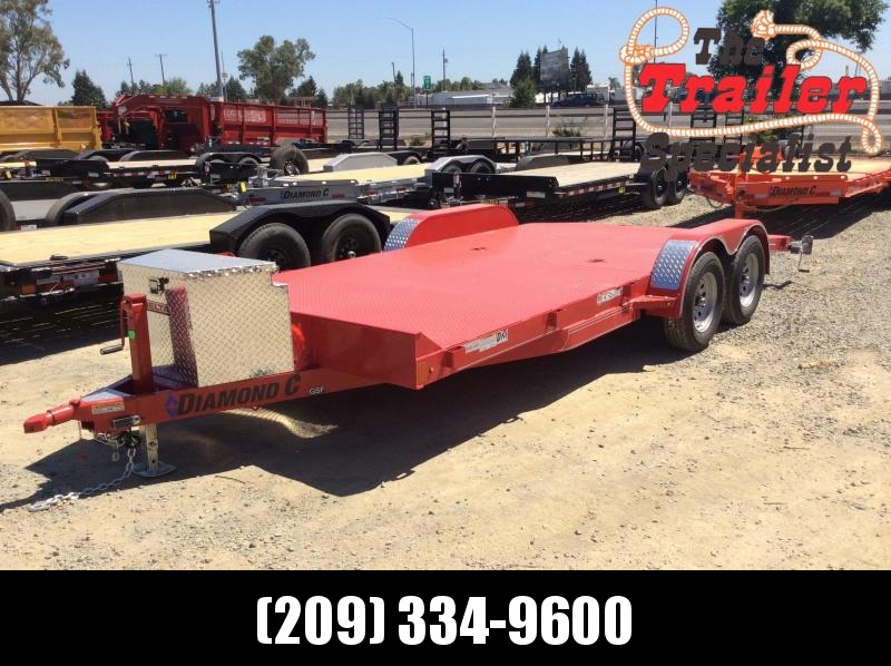 "NEW 2020 Diamond C Trailers GSF235 L18' x 83"" Car / Racing Trailer"