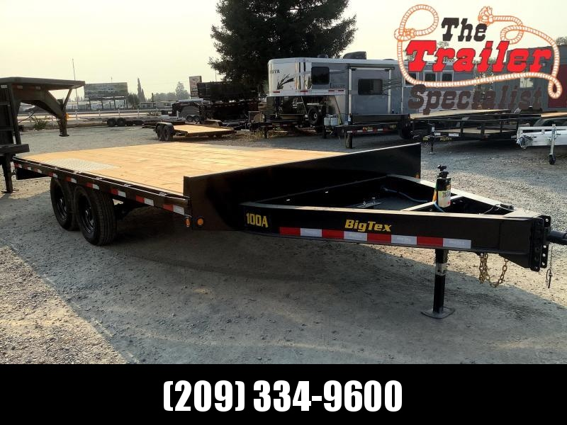 "NEW 2022 Big Tex Trailers 14OA-16 102"" x Over-The-Axle16' 14k GVW  Equipment Trailer"