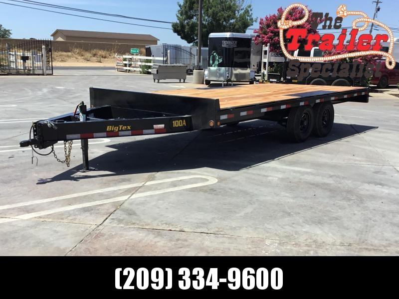"NEW 2022 Big Tex 10OA-18 102"" x 18' 9990 GVW Equipment Trailer"