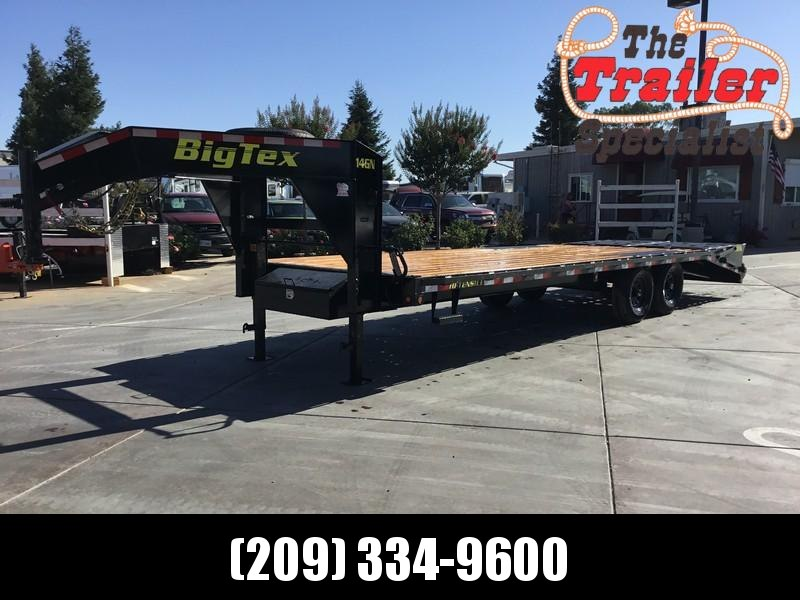 NEW 2021 Big Tex 14GN-20+5MR 15900# GVW Equipment Trailer