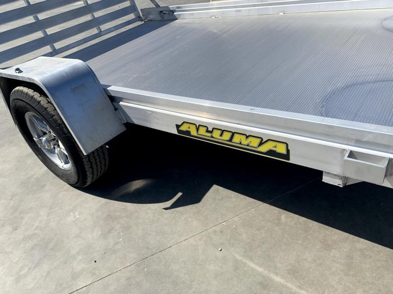 "NEW 2022 Aluma 7210H-S-TG 72"" x 10'  2990 GVW Utility Trailer"