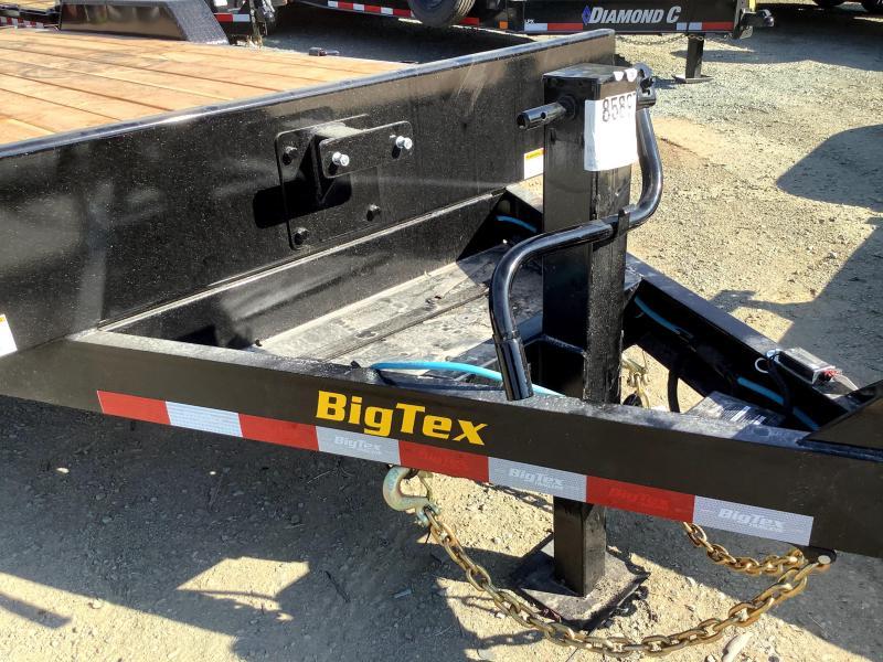 NEW 2022 Big Tex Trailers 16ET-17+3 w/ Knee-Ramps 7' x 20' (17' + 3') 17,500 GVW Equipment Trailer