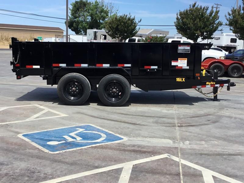 New 2019 Big Tex 16LX-14 7x14 17.5K GVW Dump Trailer