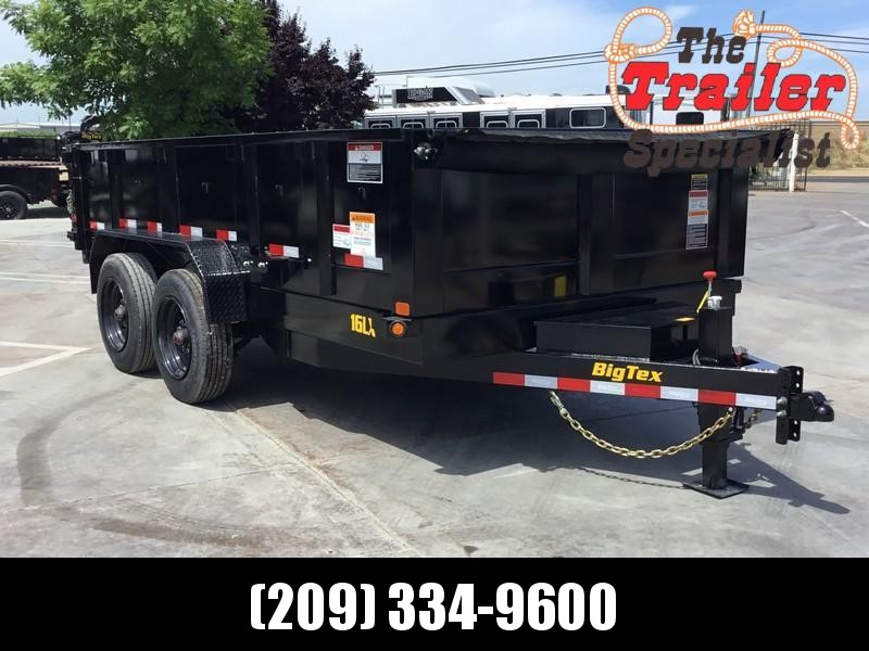 New 2020 Big Tex 16LX-14 7x14 17.5K GVW Dump Trailer